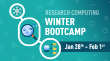 University of Alberta Research Computing Winter Bootcamp 2019