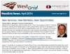 WestGrid Newsletter April 2014