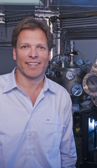Alexander Moewes, Canada Research Chair in Materials Science with Synchrotron Radiation at the UofS